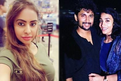 Sri Reddy attacks Nani's wife Anjana