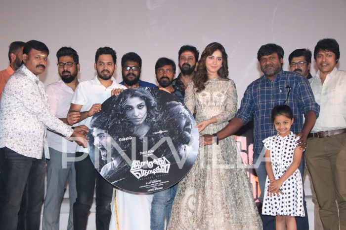 Photos: Hiphop Tamizha, Ajay Gnanamuthu, Raashi Khanna and others at Imaikkaa Nodigal trailer launch