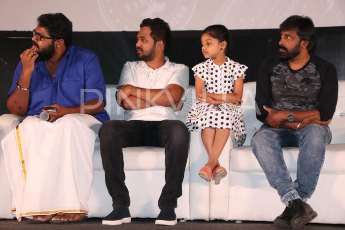 Photos: Hiphop Tamizha, Ajay Gnanamuthu, Raashi Khanna and others at Imaikkaa Nodigal trailer launch