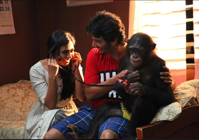 Photos: New stills from Gorilla starring Jiiva and Shalini Pandey make the wait harder for the film