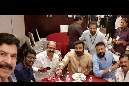 Legends in One Frame! Mohanlal, Mammootty, Jayaram and others enjoy lunch together