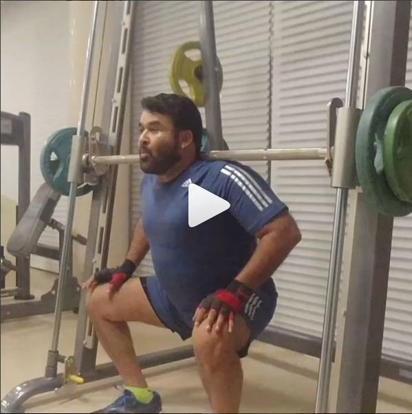 Mohanlal's new intense workout video will leave you motivated