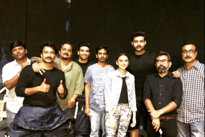It's a wrap-up! Varun Tej, Aditi Rao Hydari on the sets of Sankalp Reddy's next- see pic