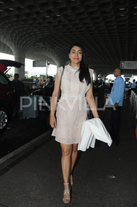 Airport diaries: Raai Laxmi and Shriya Saran spotted