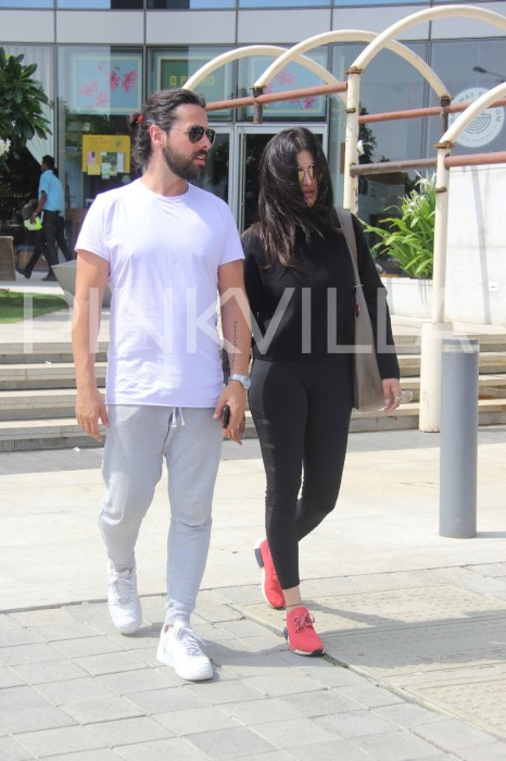 Photos: Shruti Haasan spotted post lunch date with boyfriend Michael Corsale