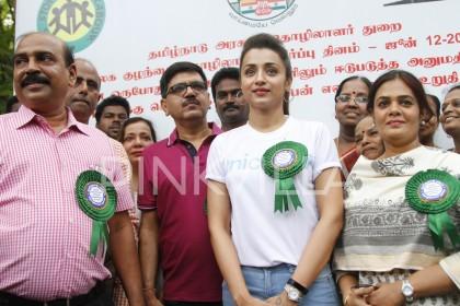 Photos: Trisha lends her support against child labour