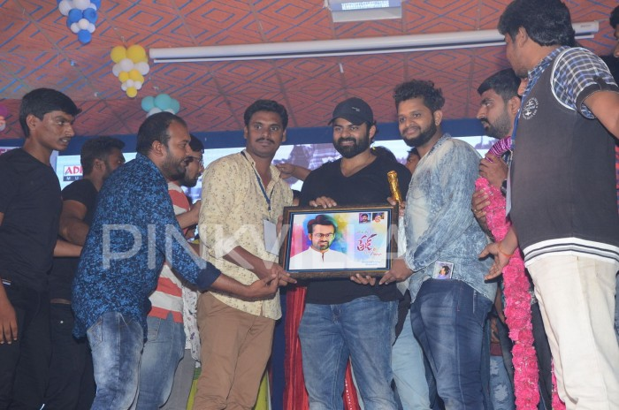 Photos: Sai Dharam Tej meets fans at the grand Tej I Love You pre-release event