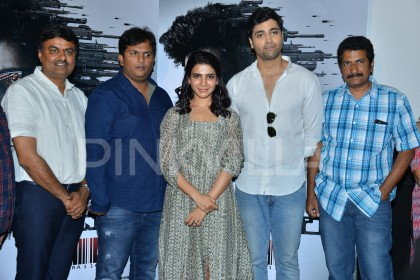 Photos: Samantha Akkineni launches Adivi Sesh's Goodachari teaser