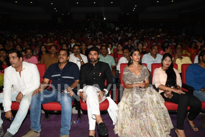 Photos: Bellamkona Sreenivas and Pooja Hegde at Saakshyam audio launch