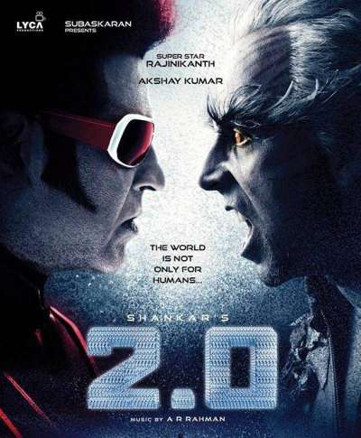 Rajinikanth starrer 2.0 teaser to be released with Akshay Kumar's Gold?