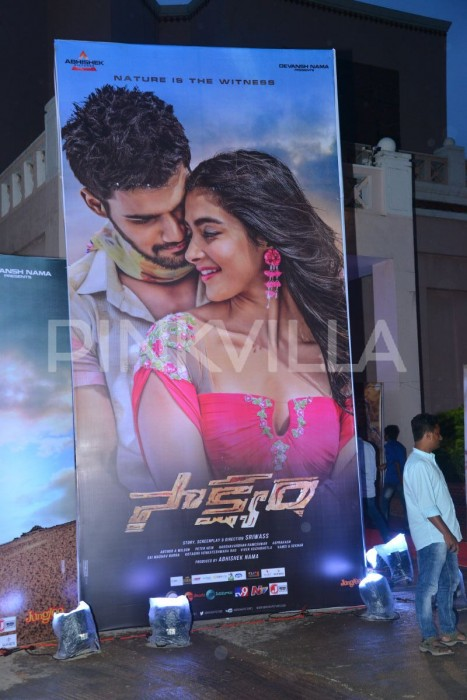 Photos: Bellamkona Sreenivas and Pooja Hegde at Saakshyam audio launch