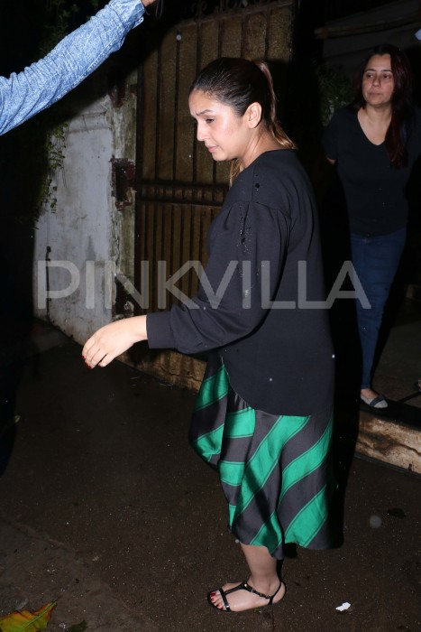 Photos: Aditi Rao Hydari, Huma Qureshi visit Sonali Bendre's sister-in-law after actress diagnosed with cancer