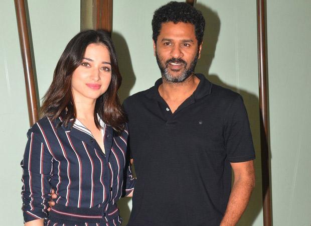 Prabhudheva and Tamannaah Bhatia to team up again?