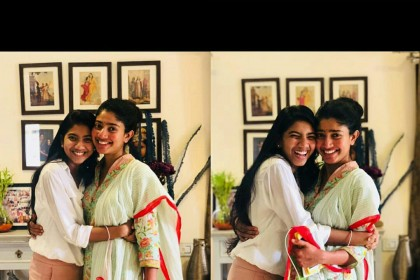 See Photo: This picture of Fidaa actress Sai Pallavi with her sister Pooja is adorable