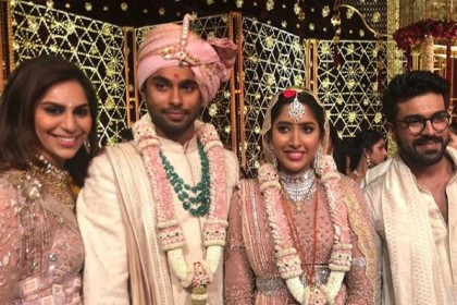 Photos: The big fat wedding of ace designer Shriya Bhupal and Anindith Reddy