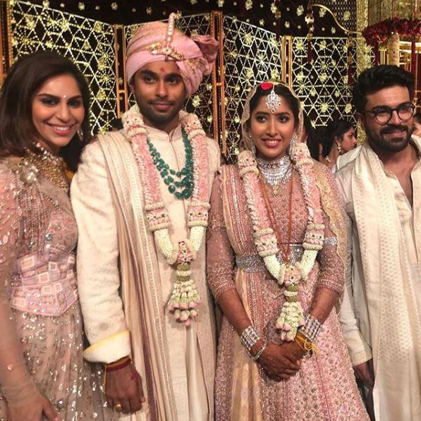 Photos: The big fat wedding of ace designer Shriya Bhupal and Anindith Reddy