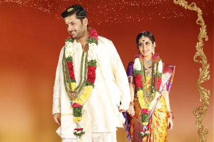 Kalyana Vaibhogam from Srinivasa Kalayanam starring Nithiin and Raashi Khanna is a melodious wedding song