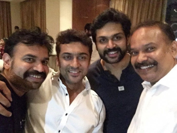 Actors Suriya and Karthi croon a special number for Venkat Prabhu's Party