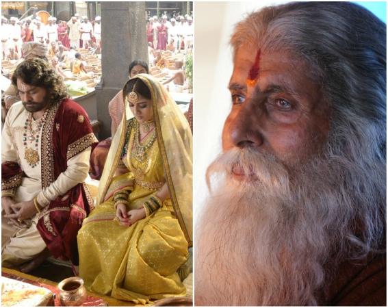 Amitabh Bachchan, Chiranjeevi starrer Sye Raa Narasimha Reddy stills leaked