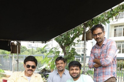 See Pic: Venkatesh begins shooting for Anil Ravipudi's F2: Fun & Frustration also starring Varun Tej