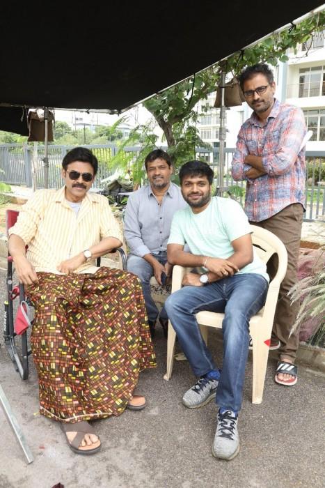 See Pic: Venkatesh begins shooting for Anil Ravipudi's F2: Fun & Frustration also starring Varun Tej