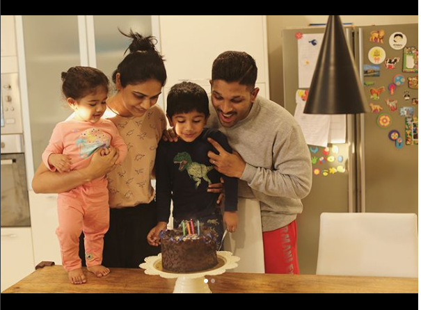 Allu Arjun can't stop praising his wife Sneha Reddy says can't believe I married such a pretty woman