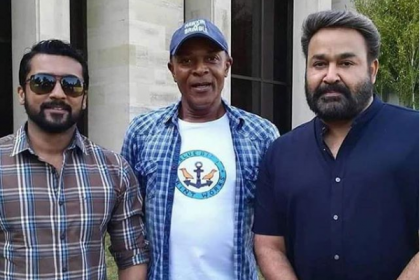 Mohanlal joins Suriya in London for their next!