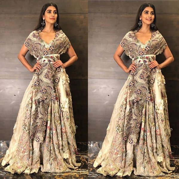 Yay or Nay: Pooja Hegde in Anamika Khanna