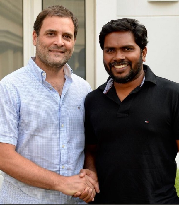 Here's what Rahul Gandhi and Kaala director Pa. Ranjith discussed at their recent meet in Delhi