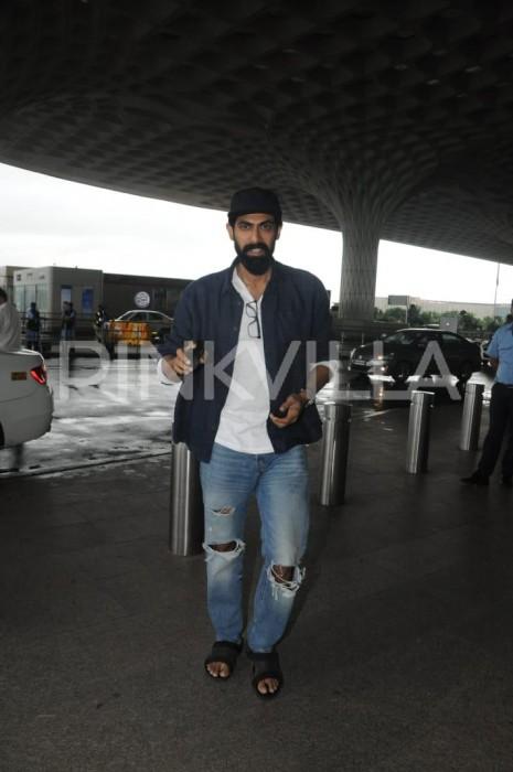 Airport diaries: Rana Daggubati, Shruti Haasan, Tamannaah Bhatia and Taapsee Pannu spotted