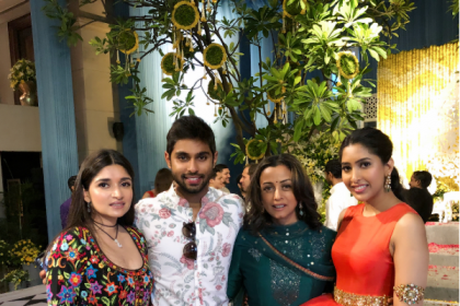 Inside photos:Mahesh Babu's wife Namrata Shirodkar, Upasana at Shriya Bhupal-Anindith Reddy's pre-wedding bash
