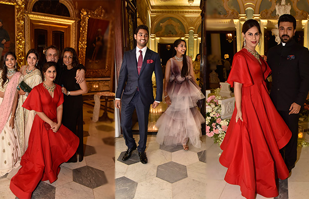 Inside Photos: Ram Charan, Chiranjeevi and others at Shriya Bhupal and Anindith Reddy's wedding bash