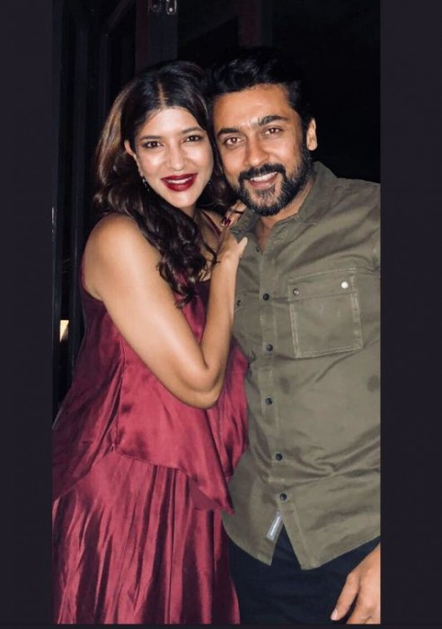 Lakshmi Manchu: Always thought Suriya was my favourite artist but changed my mind now