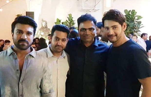 Inside photos: Mahesh Babu, Jr NTR, Ram Charan at Vamshi Paidipally's birthday party