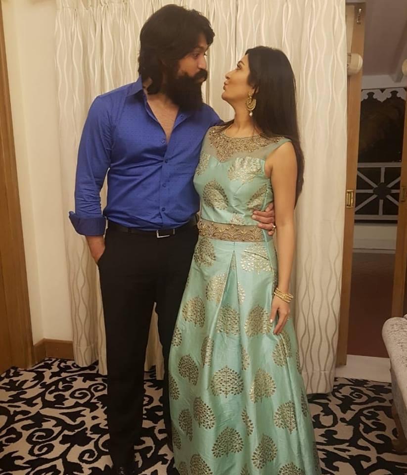 Kannada Actor Yash Announces Wife Radhika's Pregnancy In