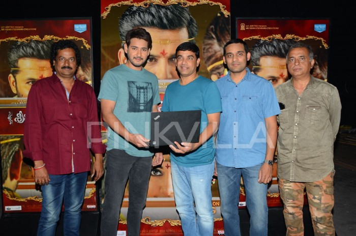 Photos: Mahesh Babu launches Nithiin and Raashi Khanna starrer Srinivasa Kalyanam trailer