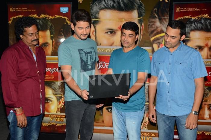 Photos: Mahesh Babu launches Nithiin and Raashi Khanna starrer Srinivasa Kalyanam trailer