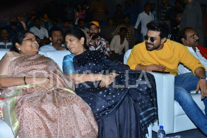 Photos: Ram Charan, Chiranjeevi's mother and wife Surekha at Sye Raa Narasimha Reddy teaser launch