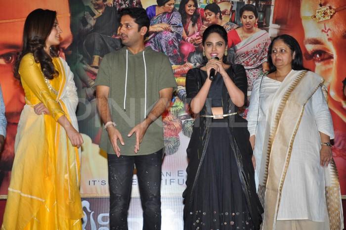 Photos: Nithiin and Raashi Khanna promote Srinivasa Kalyanam in style