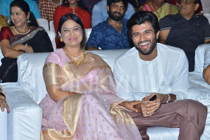 Photos: Chiranjeevi as the chief guest at Vijay Deverakonda starrer Geetha Govindam success meet