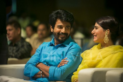Photos: Sivakarthikeyan and Samantha Akkineni at grand SeemaRaja audio launch