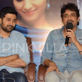 Photos: Nagarjuna at Sushanth and Ruhani Sharma starrer Chi La Sow press meet