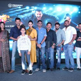 Photos: Prabhudheva, Aishwarya Rajesh, Ditya at Lakshmi press meet