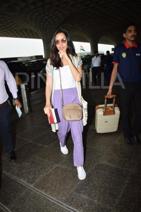 Airport Diaries: Shraddha Kapoor heads to Hyderabad for the shoot of Prabhas' Saaho