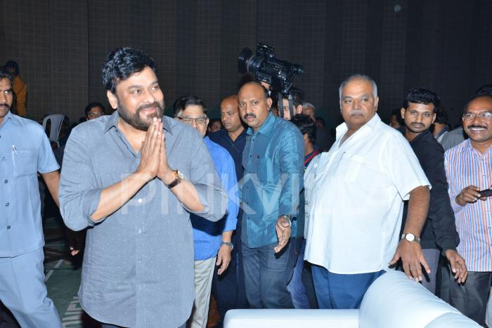Photos: Chiranjeevi as the chief guest at Vijay Deverakonda starrer Geetha Govindam success meet