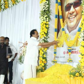 Photos: Rajinikanth, Vishal and others at Karunanidhi memorial event