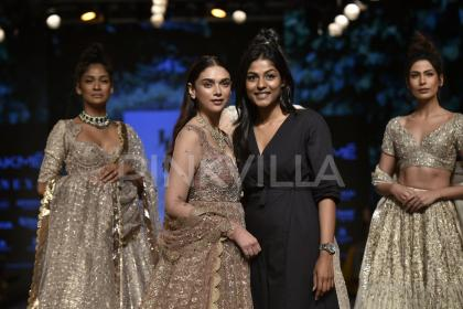 Lakme Fashion Week 2018: Aditi Rao Hydari looks nothing less than a Noor in Jayanti Reddy's creation