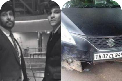 Tamil actor Vikram's son arrested after his car injures 1 in accident