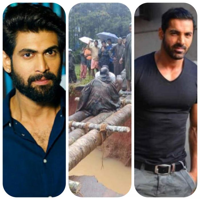 Kerala Floods: Rana Daggubati, Dulquer Salmaan, John Abraham and others send out prayers and help