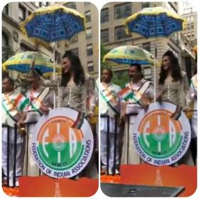 Watch: Kamal Haasan and daughter Shruti Haasan attend India Day Parade 2018 in New York